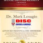 Dr. Losagio Receives Prestigious Back Pain Treatment Award